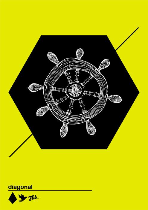 gouvernail-x-diagonal